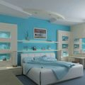 Лучшие цвета обоев для спальни. Фото